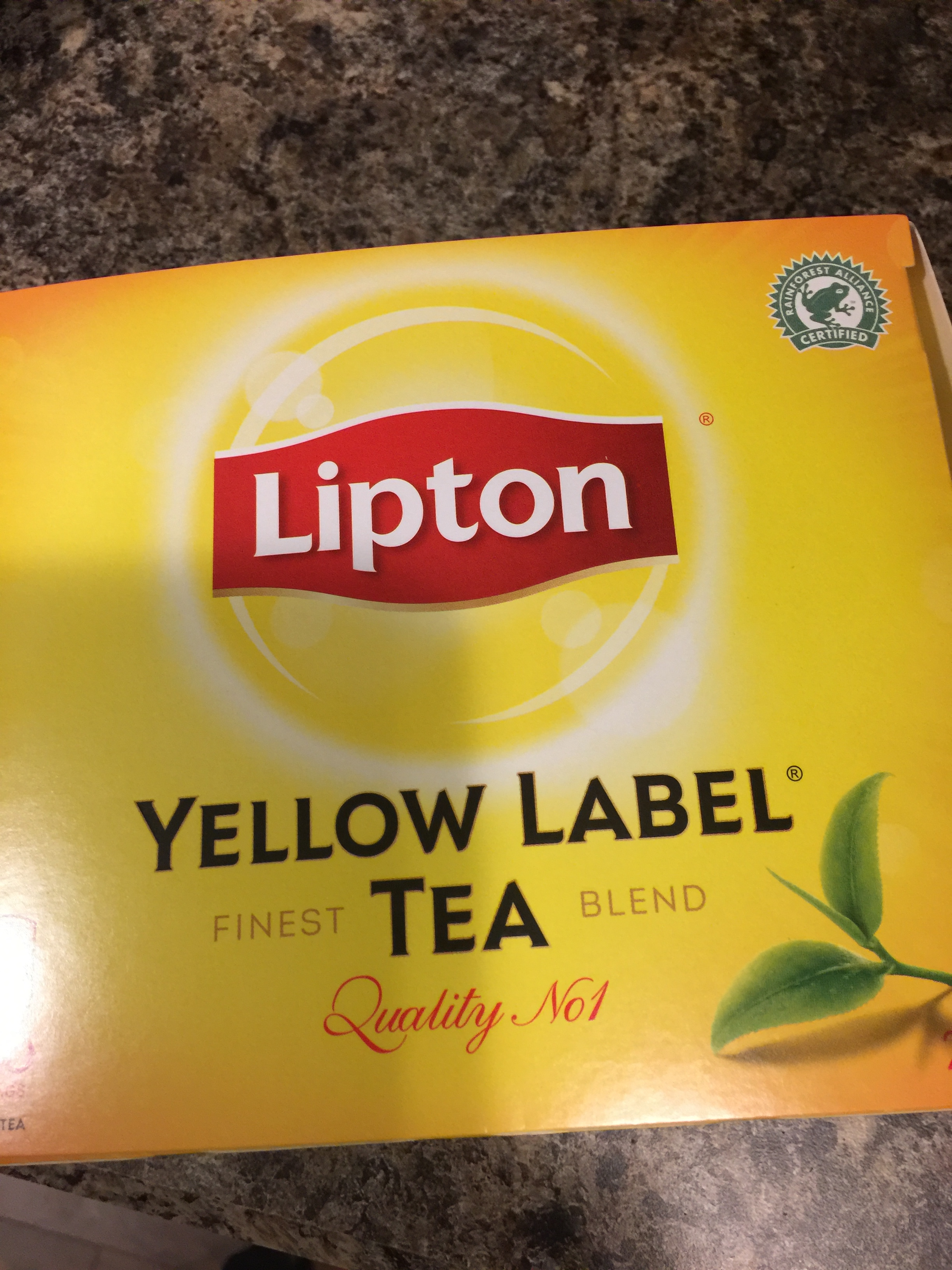 Lipton Yellow Label Tea Bags Reviews In Tea Chickadvisor