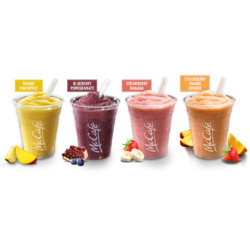 McDonald's Fruit Smoothies