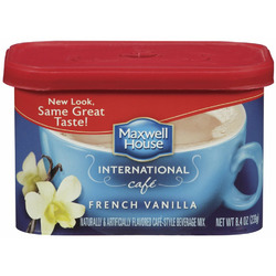 Maxwell House French Vanilla Coffee