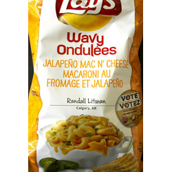 Lay's Jalapeno Mac & Cheese Chips