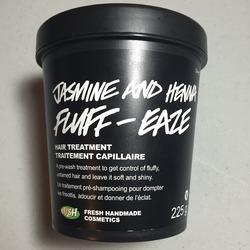 LUSH Jasmine & Henna Fluff Eaze