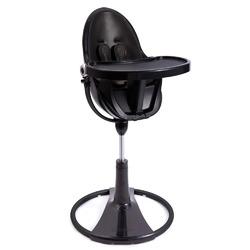 Bloom Black Fresco Baby High Chair in Noir