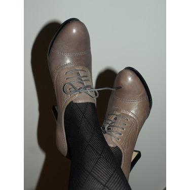 Nine West Kimball Leather Shoe (grey)