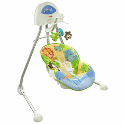 Fisher Price Animals of the World Cradle Swing