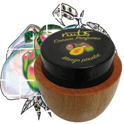Cream Perfume in Mango poudre