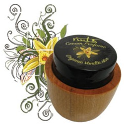 Cream Perfume in Organic Vanilla