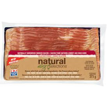 Maple Leaf Natural Selections Bacon