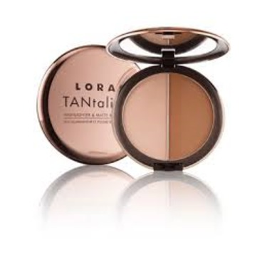 LORAC TANtalizer Highlighter & Matte Bronzer Duo