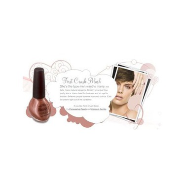 Nicole by OPI Nail Lacquer in First Crush Blush