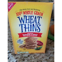 Wheat Thins Sundried Tomato & Basil Crackers