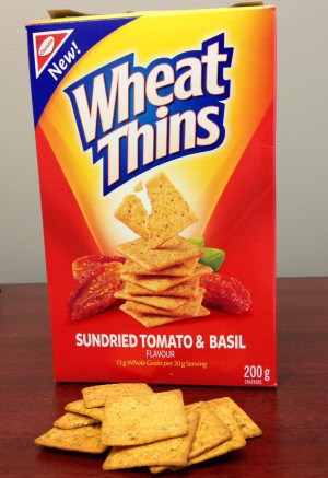 Wheat Thins Sundried Tomato & Basil Crackers reviews in ...