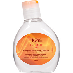 K-Y 2 in 1 Warming Oil & Personal Lubricant
