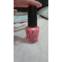 OPI Nail Lacquer in Melon of Troy