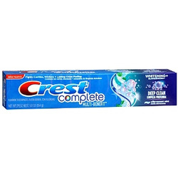 Crest Complete Multi-Benefit Extra Whitening Tartar Protection Clean Mint Flavor Toothpaste