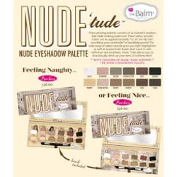 The Balm Nude 'Tude eyeshadow palette