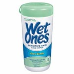 Wet Ones Hand & Face Wipes for Sensitive Skin - Extra Gentle