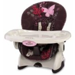 Fisher Price Space Saver High Chair in Mocha Butterfly