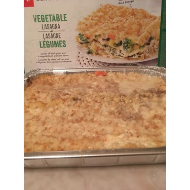 President's Choice Vegetable Lasagna