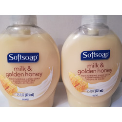 Softsoap Milk Protein & Honey Hand Soap
