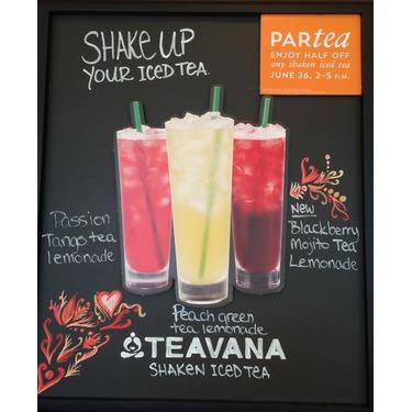Starbucks Passion Tango Tea Lemonade