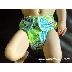 Glow Bug Cloth Diapers