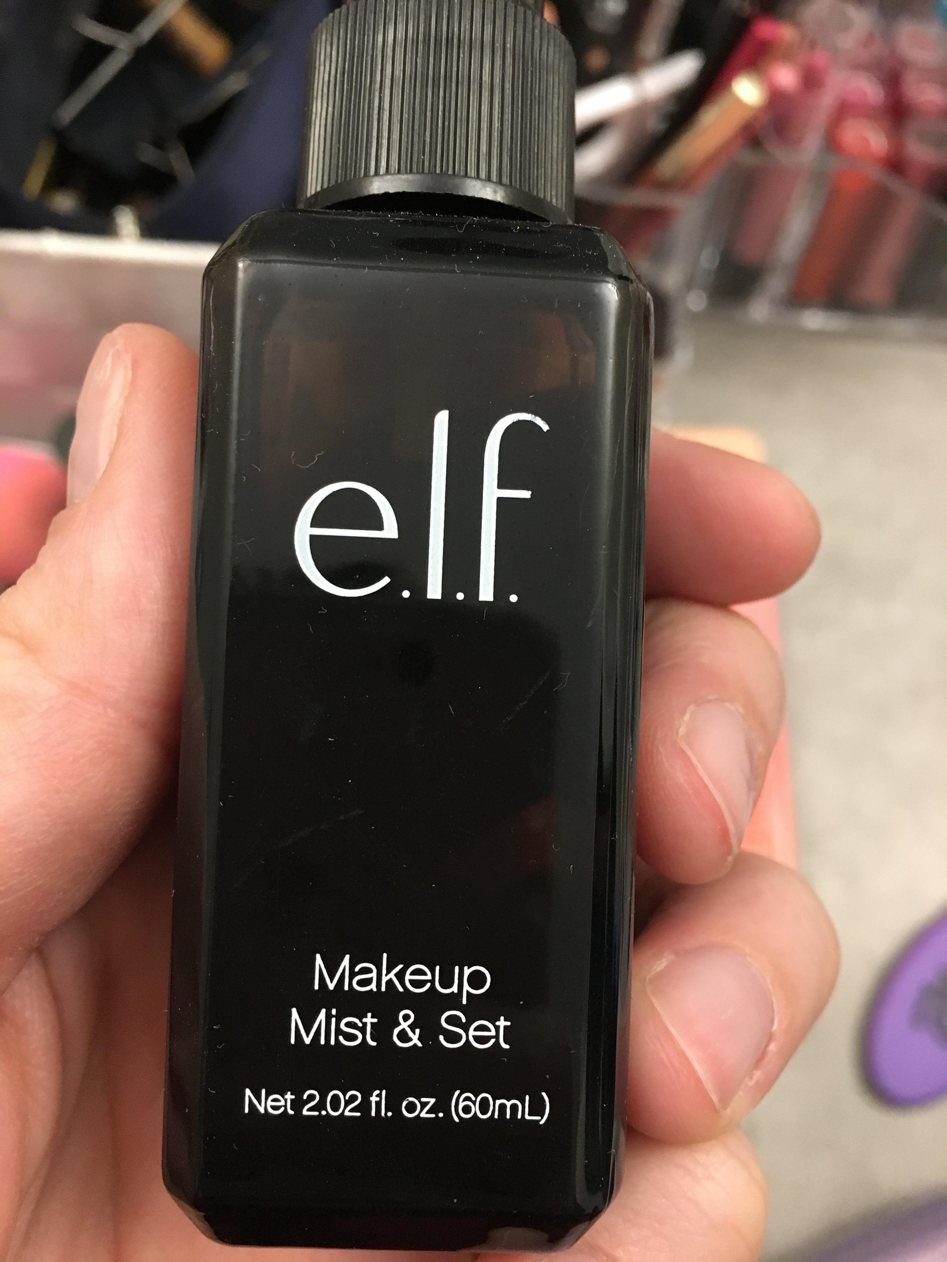 Cosmetics And Makeup: E.l.f. Cosmetics Studio Makeup Mist And Set Spray Reviews