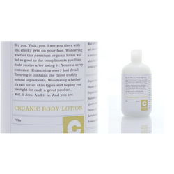 Consonant Skincare Pure Unscented Organic Body Lotion