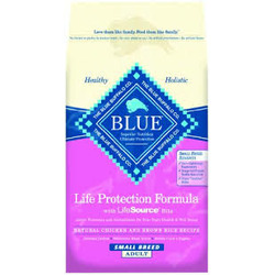 Blue Buffalo Chicken and Brown Rice Small Breed Adult Dog Food