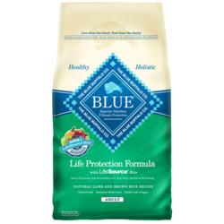 Blue Buffalo Lamb and Brown Rice Adult dog food