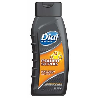 dial power scrub for men