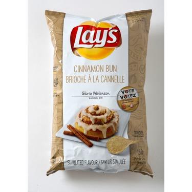 Lay's Cinnamon Bun Chips