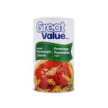 Walmart's Great Value Parmesan Cheese