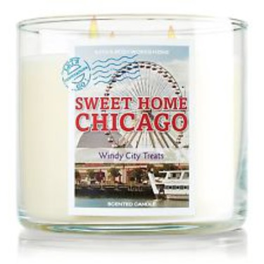 Bath & Body Works 3 Wick Candle Sweet Home Chicago
