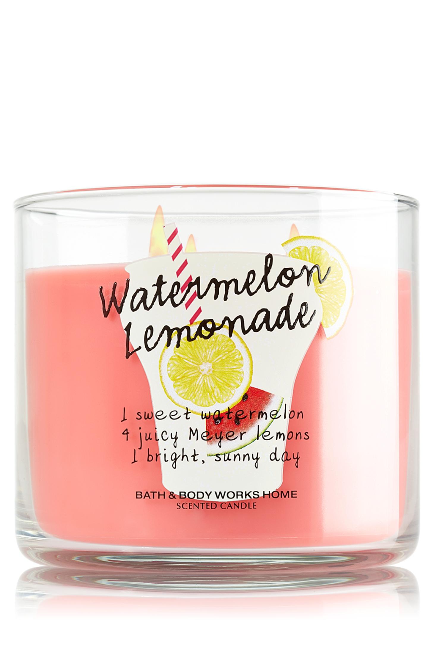 bath and body works watermelon lemonade review