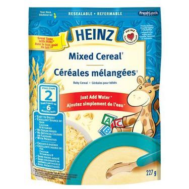 Heinz Baby Mixed Cereal
