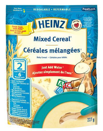 Heinz Baby Mixed Cereal Reviews In Baby Food Chickadvisor