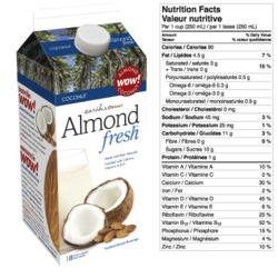 Earth's Own Almond Fresh: Coconut