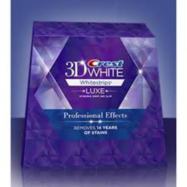 Crest 3d White Luxe Whitestrips Professional Effects Reviews In