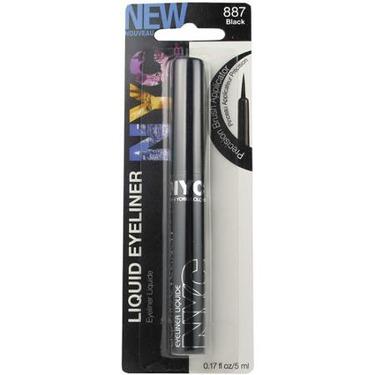 NYC Liquid Eyeliner in Black