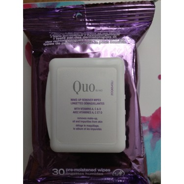 QUO Make Up Remover Wipes