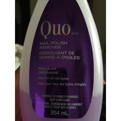 QUO Nail Polish Remover- Regular