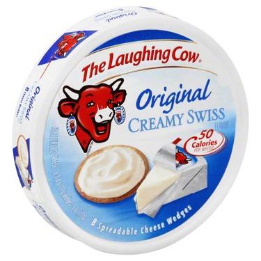 Laughing Cow Cheese - Creamy Swiss Original