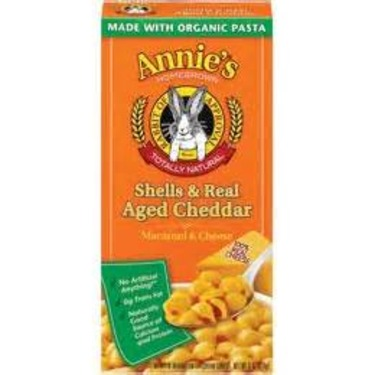 Annie's Homegrown Shells & Real Aged Cheddar Macaroni & Cheese