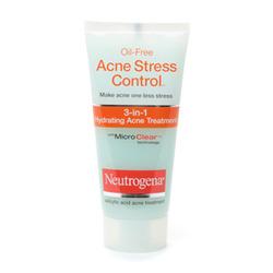Neutrogena Oil-Free Acne Stress Control 3-in-1 Hydrating Acne Treatment
