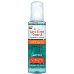 Neutrogena Oil-Free Acne Stress Control Power-Foam Wash