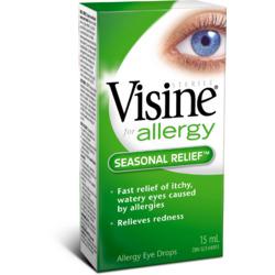 VISINE Advance with Antihistamine Allergy Eye Drops
