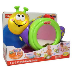 Fisher Price - 1-2-3 Crawl Along Snail