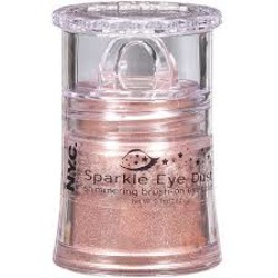 NYC Sparkle Eye Dust Pink Champagne