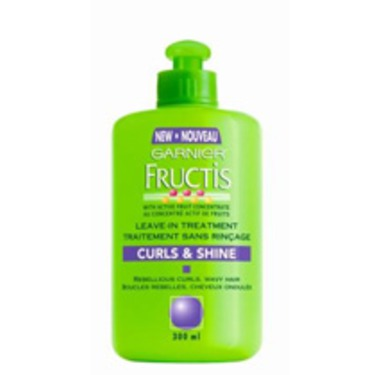 Garnier Fructis Curls and Shine Leave-in Treatment
