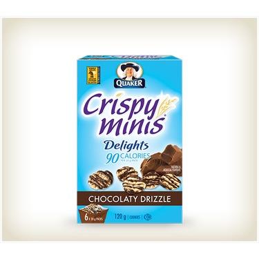 Quaker Mini Delights Chocolatey Drizzle